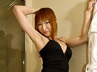 水朝美樹美人ニューハーフがシャワー室でシコシコ!